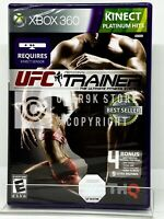 UFC Personal Trainer: The Ultimate Fitness System - Xbox 360 - Brand New