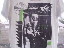 RaRe *1982 THOMAS DOLBY* vtg t shirt 80s Punk Rock Devo Oingo Boingo Paper Thin