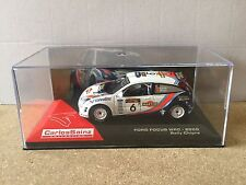 """DIE CAST """" FORD FOCUS WRC - 2000 RALLY CHIPRE """" CARLOS SAINZ COLLECTION 1/43"""