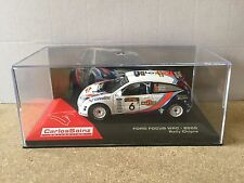 "DIE CAST "" FORD FOCUS WRC - 2000 RALLY CHIPRE "" CARLOS SAINZ COLECCIÓN 1/43"