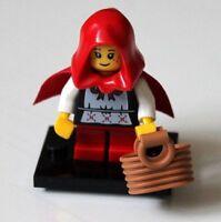 Real Genuine Lego 8831 Series 7 Minifigure no. 16 Grandma Visitor