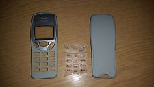 New For Nokia 3210 Front & Back Fascia Housing Cover Keypad Light Grey/Cream