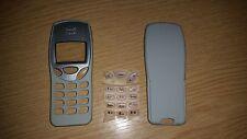 New For Nokia 3210 Front & Back Fascia Housing Cover Keypad Light Grey/Cream