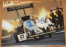 2016 Tony Schumacher signed Army Top Fuel NHRA 11x14 Photo