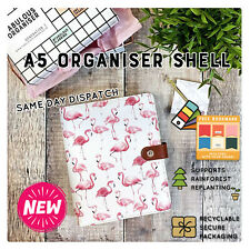 ORGANISERS A5/ SW/ DIETS/COLLEGE/WORK/ A5 /FILOFAX PLANNER /RE-USE/RING/OFFICE