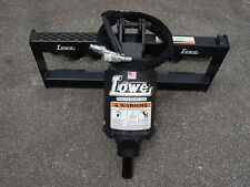 Bobcat Skid Steer Attachment - New Lowe BP210 Hex Auger Drive Unit - Ship $199