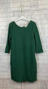 🍄 GANNI 🍄 Green Textured Mrs Robinson Dress Size L