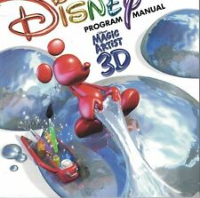 Disney Magic Artist 3D Computer Software PC Win 95 98 MAC 8.6