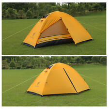 Ultralight Backpacking Tent - 3 Season - 1 Man Tent - Camping - YELLOW  1.8kg