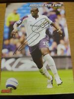 90-2000's Autographed Magazine Picture A4: Bolton Wanderers - Faye, Abdoulaye. W