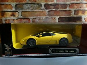 Road Signature Volkswagen W12 Nardo VW Yellow 1:18 Scale Diecast Model Car