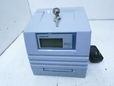 Pyramid 4000 Pro Automatic Totaling Time Clock T7 C7