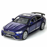 Mercedes-Benz AMG GT63 1:32 Model Car Diecast Toy Vehicle Collection Gift Blue