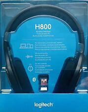 Logitech H800 Wireless Headset HD Stereo Noise Canceling Mic Bluetooth Audio NEW