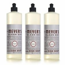 Clean Day Liquid Dishwashing Soap - Lavender, 3 Pack - 16 oz Each By Mrs Meyers
