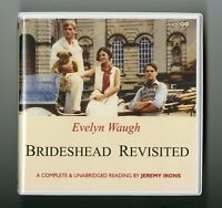 Brideshead Revisited: by Evelyn Waugh - Unabridged Audiobook - 10CDs