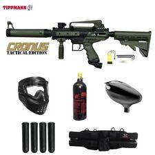 Tippmann Maddog Cronus Tactical Starter CO2 Paintball Gun Package Olive