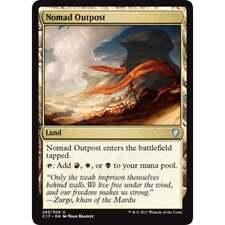 MTG COMMANDER 2017 * Nomad Outpost