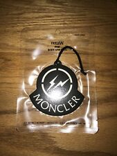 Moncler x Fragment Car Air Freshener NYC Soho Pop Up Exclusive Very Limited