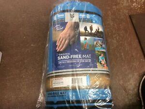 The Original 6-person Sand Free Mat 8'x8'/2.44m Blue