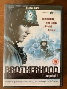 Brotherhood DVD 2004 Je-gyu Kang Korean War Film Classic Premier Asia RENTAL