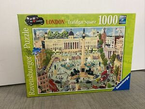 Ravensburger Puzzle 1000 Piece Jigsaw Trafalgar Square London Scene