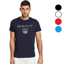 GANT T-Shirt Herren Shirt Shield  Logo Tee Shirts   G-03  [ S - 4XL ]   NEU
