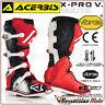 BOTTES ACERBIS X-PRO V. ROUGE OFF-ROAD MOTOCROSS MOTO CROSS QUAD ENDURO 45