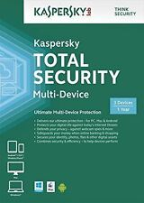 Kaspersky Lab Total Security 3 Devices 1 Year DVD