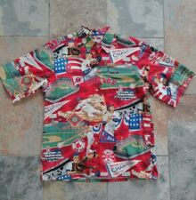 Boston Red Sox Hawaiian Shirt By Reyn Spooner Size Medium Pre-owned