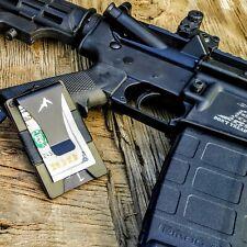 EDC Men's Tactical Wallet Minimalist Money Clip Wallet RFID Blocking