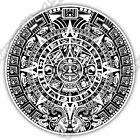 Maya Mayan Calendar Mexico Aztec Gift Idea Car Bumper Vinyl Sticker Decal 4.6