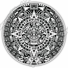 Maya Mayan Calendar Mexico Aztec Gift Idea Car Bumper Vinyl Sticker Decal 4.6""