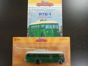 1:43 YATB-1, 1939-1938 Trolley Bus, #14 Our Buses (Modimio) Nashi Avtobusy
