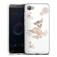HTC Desire 12 Silikon Hülle Case handyhülle - Bambi cute