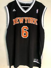 Adidas NBA Jersey New York Knicks Kristaps Porzingis Black Alt sz XL