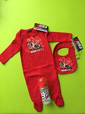 LOT pyjama + bavoir + biberon 93 MARC MARQUEZ MOTO G.P  - vêtement bébé 12 MOIS