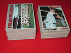 1970 Topps Baseball HIGH GRADE Pick 10 NM+ Near Mint STARS HI# complete your set