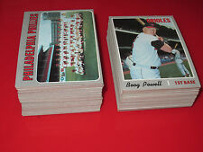 1970 Topps Baseball HIGH GRADE Pick 10 NM+ Near Mint STARS HI# complete your set