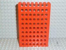 LEGO® Technic Zubehör 10x Lochbalken Steine 1x8 in rot 3702 R760