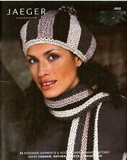 Jaeger Handknits JB33: 24 Designer Garments & Accessories -Knitting Pattern Book