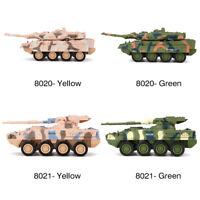 8020/8021 Mini 4CH Remote Control Battle Tank Car RC Military Model Toy Gift