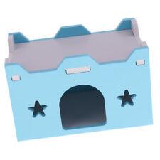 maison lit cage nid pour petit animal animal hamster cobaye château jouet