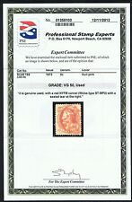 GENUINE SCOTT #159 USED PSE CERT RED NYFM CANCEL WEISS ST-MP3 - PRICED TO SELL