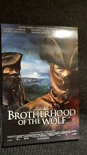 Brotherhood of the Wolf movie poster , Vincent Cassel