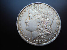 More details for 1883 morgan silver dollar (o) mint mark new orleans