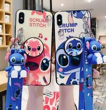 Cartoon Disney Stitch Soft Phone Case Cover For iPhone11Pro 6s 7 8Plus XR Xs Max
