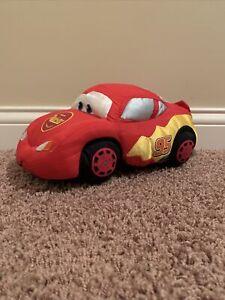 Lightning McQueen Rust-Eze Stuffed Plush Disney's Car Movie Red Race Car 95