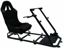 FK Automotive Sedile Simulazione Corsa per Videogiochi - Nero