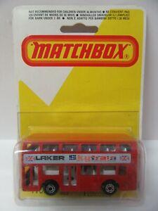 Matchbox Superfast No.17 Londoner Bus 'LAKER SKYTRAIN' - Mint/Boxed